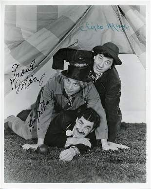 The Marx Brothers rare signed photograph