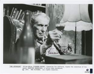Vincent Price signed photograph