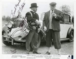 Harold Sakata James Bond signed OddJob photograph