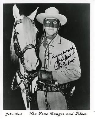 John Hart Lone Ranger signed Photo