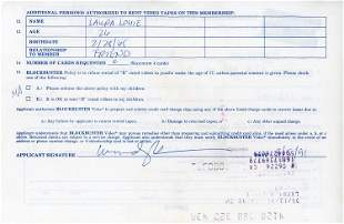 Woody Harrelson Blockbuster signed contract