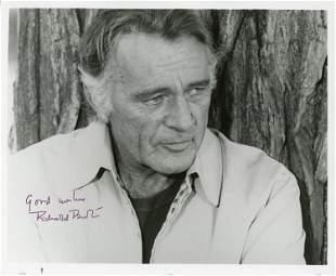 Richard Burton signed photo