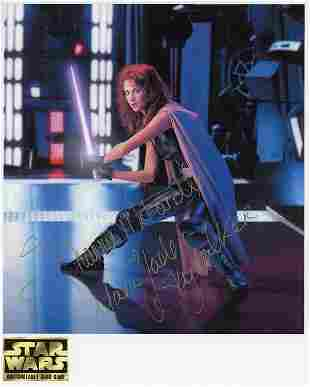 Shannon McRandle Star Wars signed photo