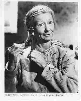 Irene Ryan Beverly Hillbillies signed photo