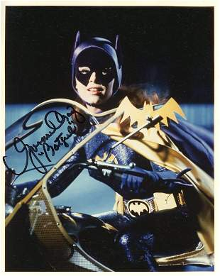 Batgirl signed photograph