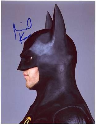 Michael Keaton Batman signed photo