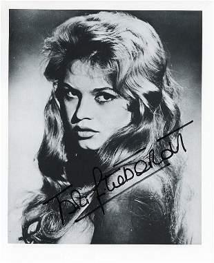 Brigite Bardot signed photo