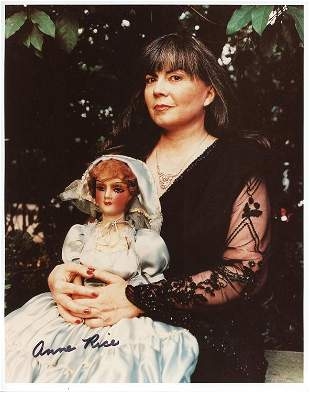 Anne Rice signed photo