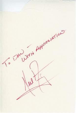 Neil Armstrong signature RARE
