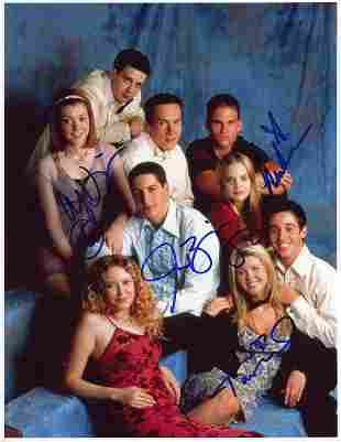 American Pie cast signed photo