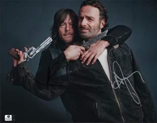Walking Dead cast signed 11x14