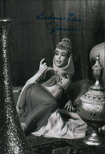 An 11x14 as Jeannie signed with our private signing