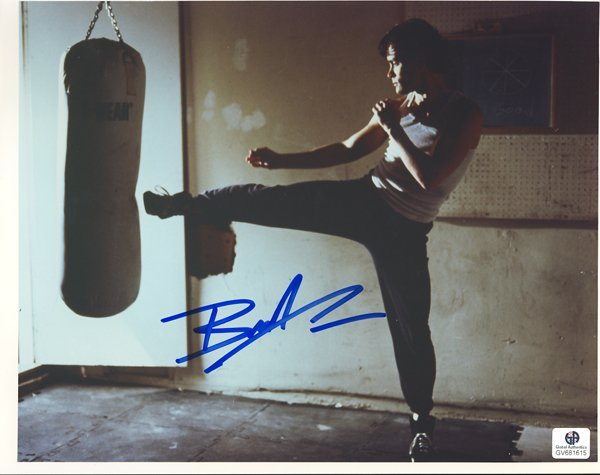 Brandon Lee Signed 8x10 Photograph
