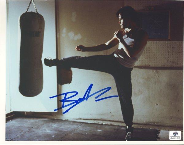 Brandon Lee Signed 8x10 Photograph