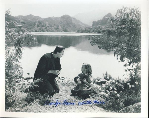 "Marilyn Harris ""Frankenstein"" Signed 8x10 Photograph"