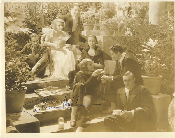 Katharine Hepburn Vintage 1930s Signed 8x10 Photograph