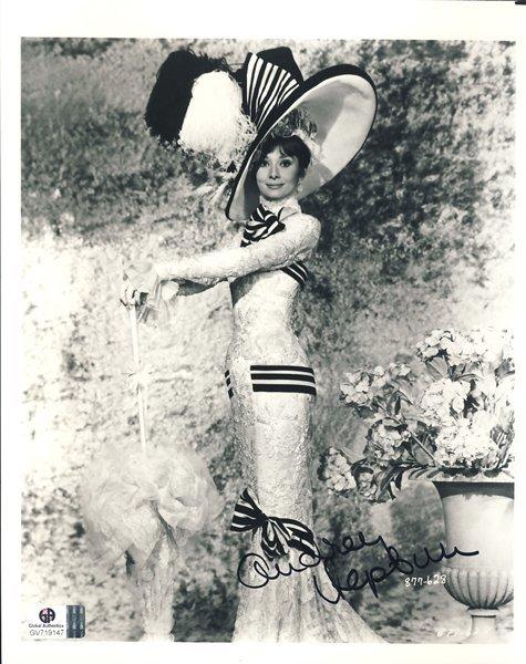 "Audrey Hepburn ""My Fair Lady"" Signed 8x10 Photograph"