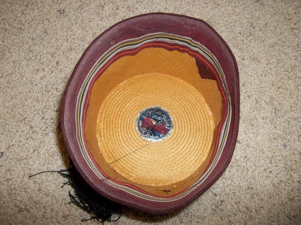 """Christopher Lee """"The Mummy"""" Fez Hat - 2"""