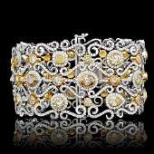 $202300 CERTIFIED 14K AND 18K MULTI-TONE GOLD 21.30CT