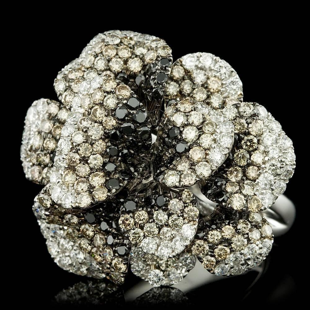 18k White Gold 2.6ct Diamond Ring