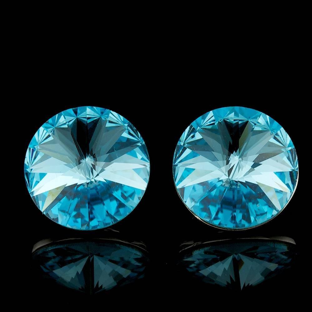 925 Sterling Silver 6.50ct Crystal Earrings