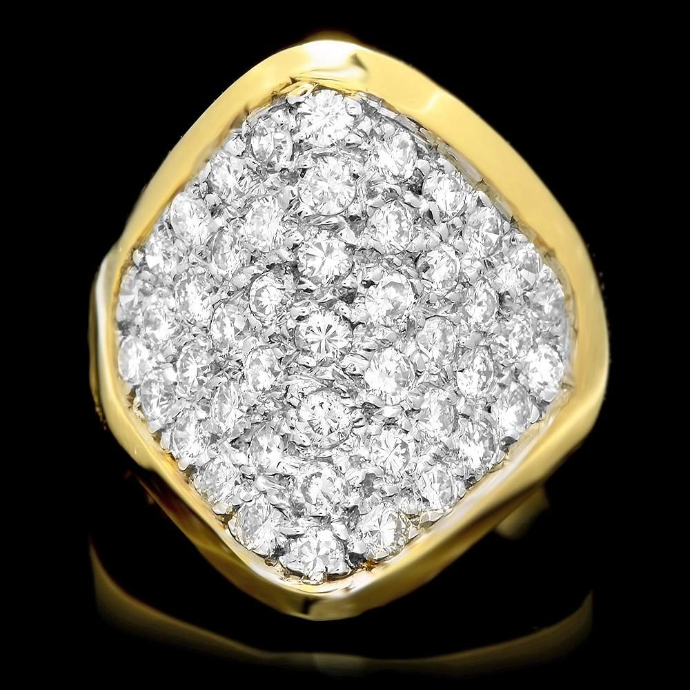 14k Yellow Gold 1.50ct Diamond Ring