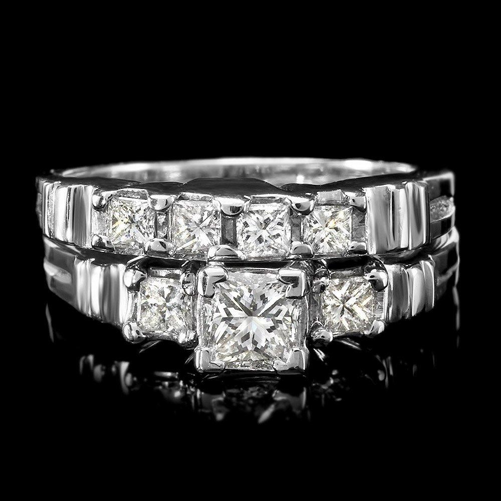 950platinum .9ct Diamond Ring