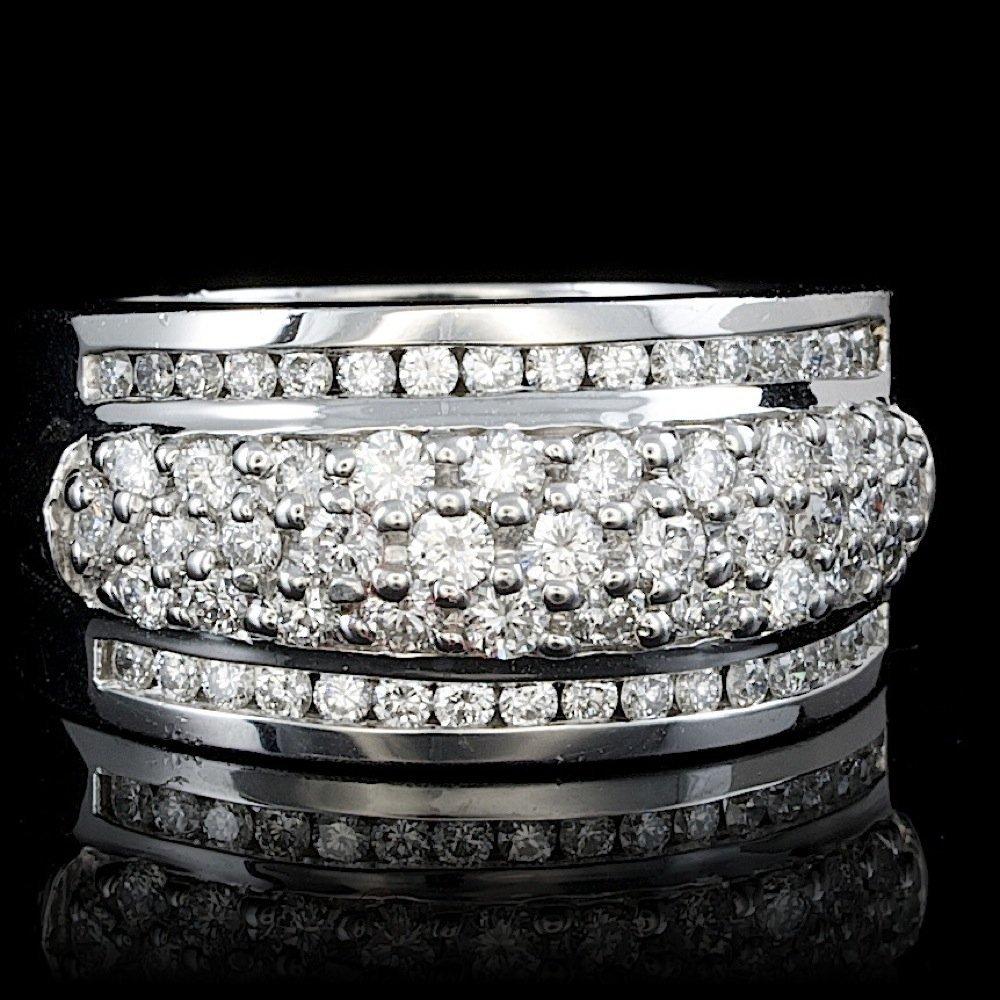 14k White Gold 1.40ct Diamond Ring