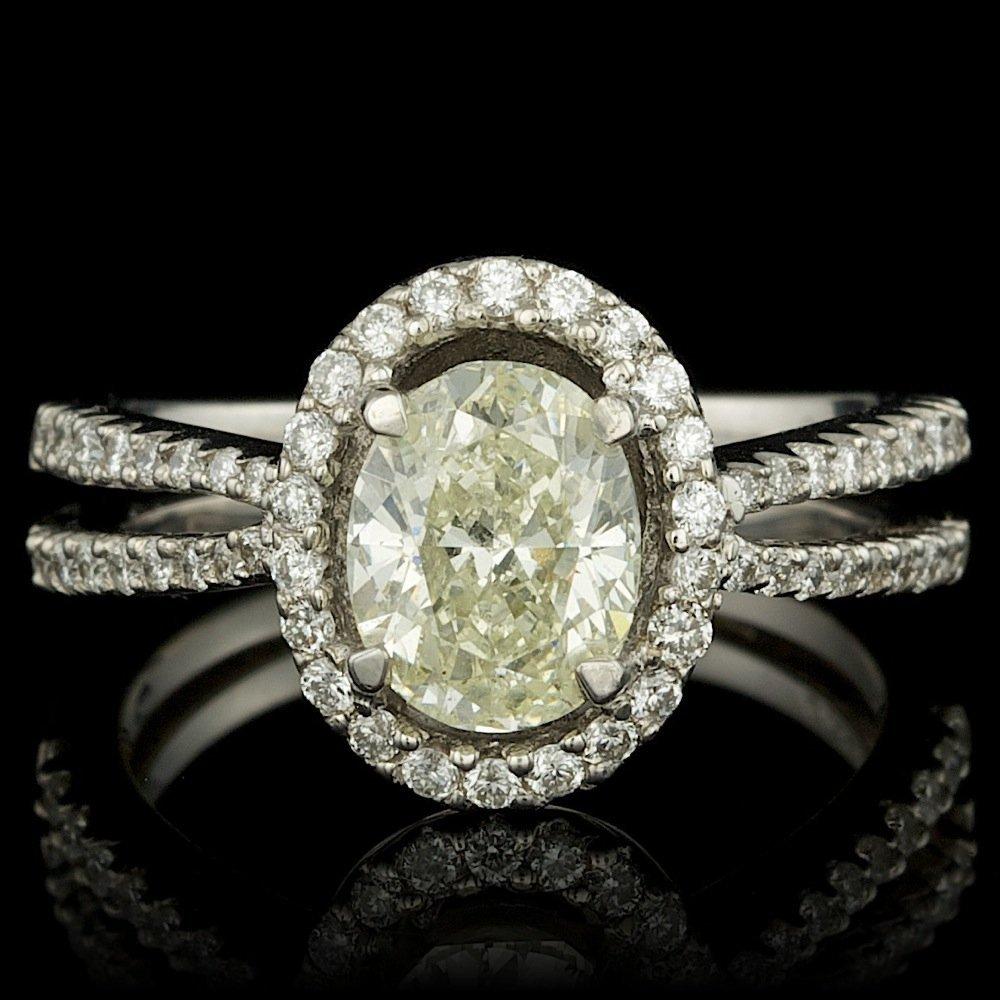 18k White Gold 2.17ct Diamond Ring
