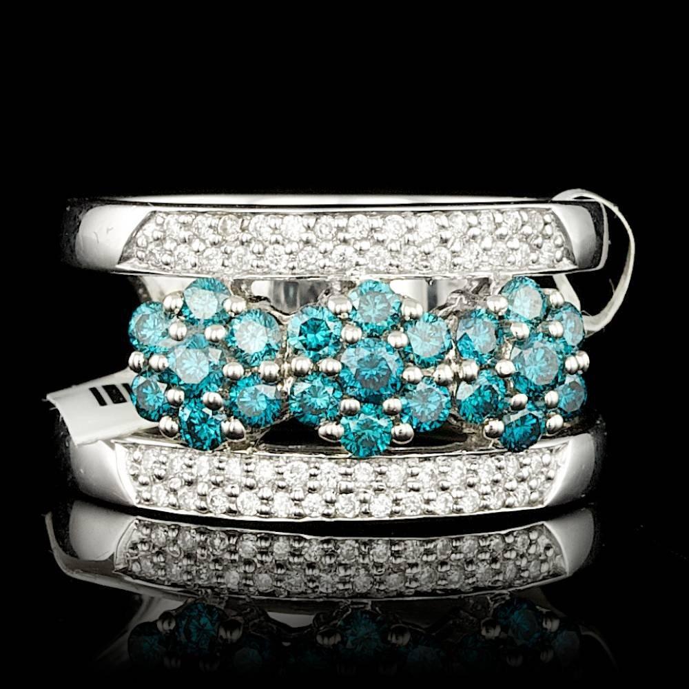 14k White Gold .99ct Diamond Ring