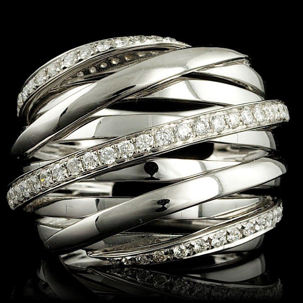 18k White Gold 0.80ct Diamond Ring
