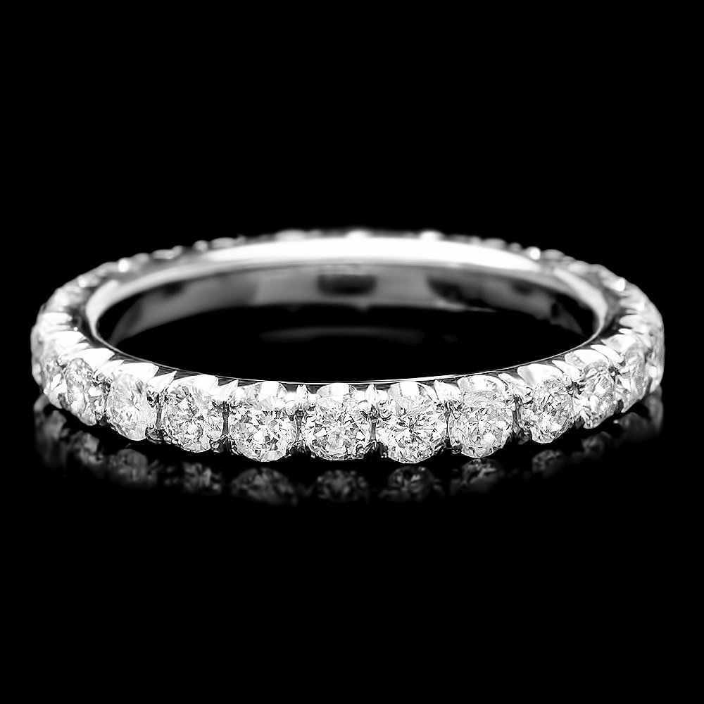 14k White Gold 1.50ct Diamond Ring