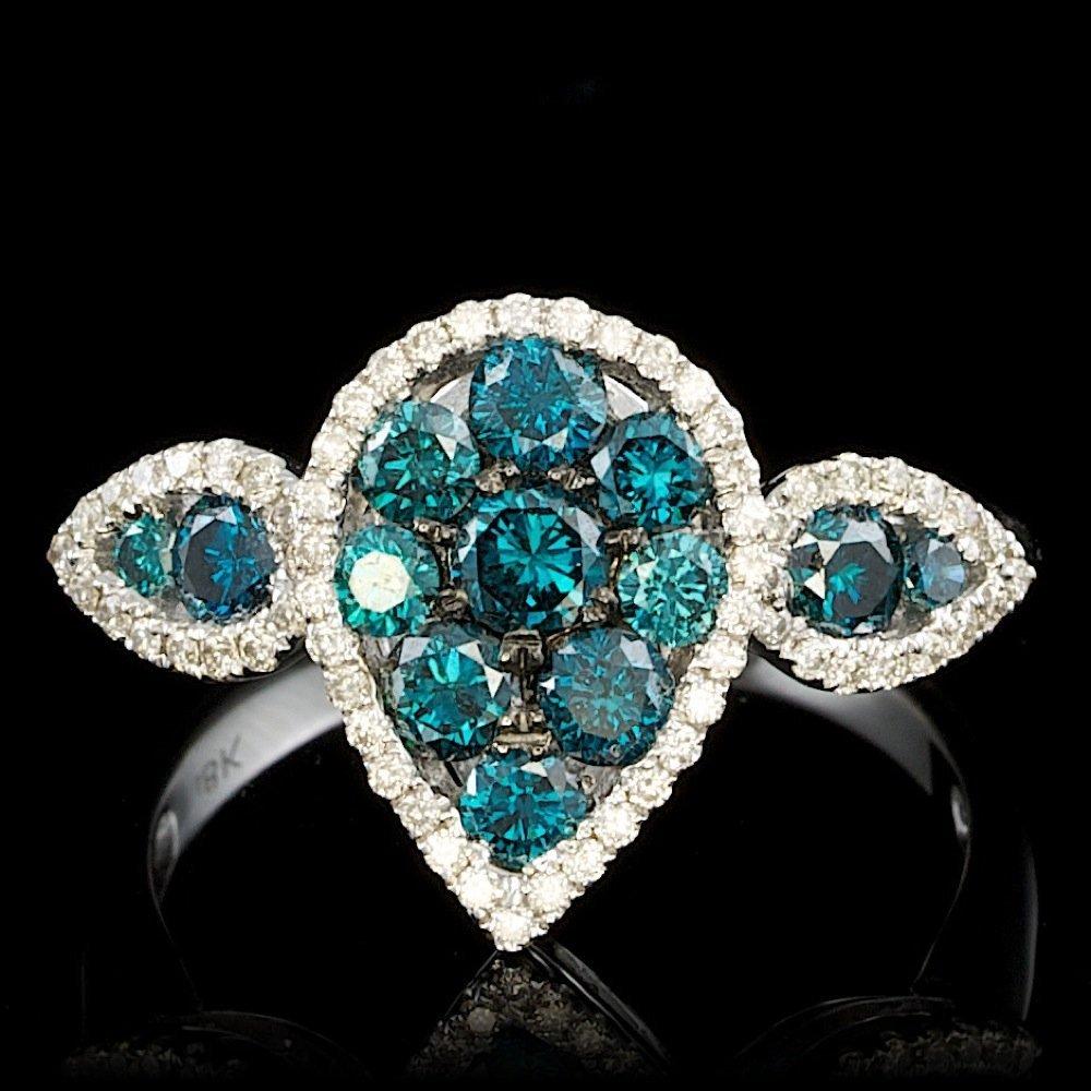 18k White Gold 1.4ct Diamond Ring