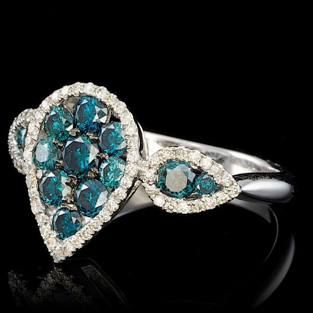 18k White Gold 1.4ct Diamond Ring - 2