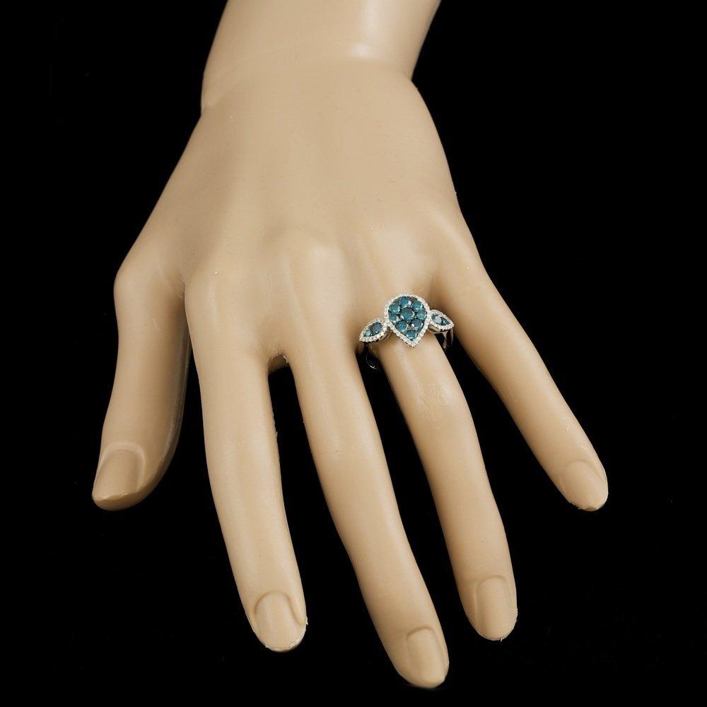 18k White Gold 1.4ct Diamond Ring - 5