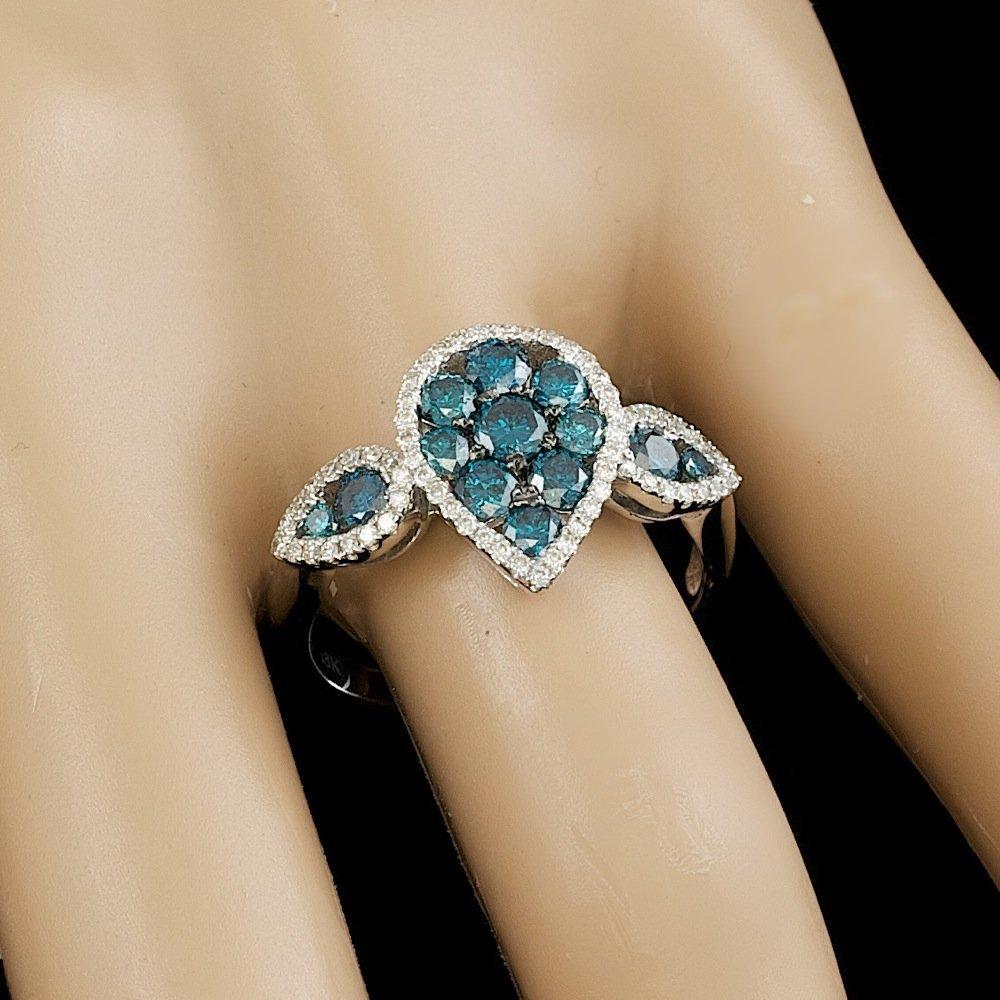18k White Gold 1.4ct Diamond Ring - 6