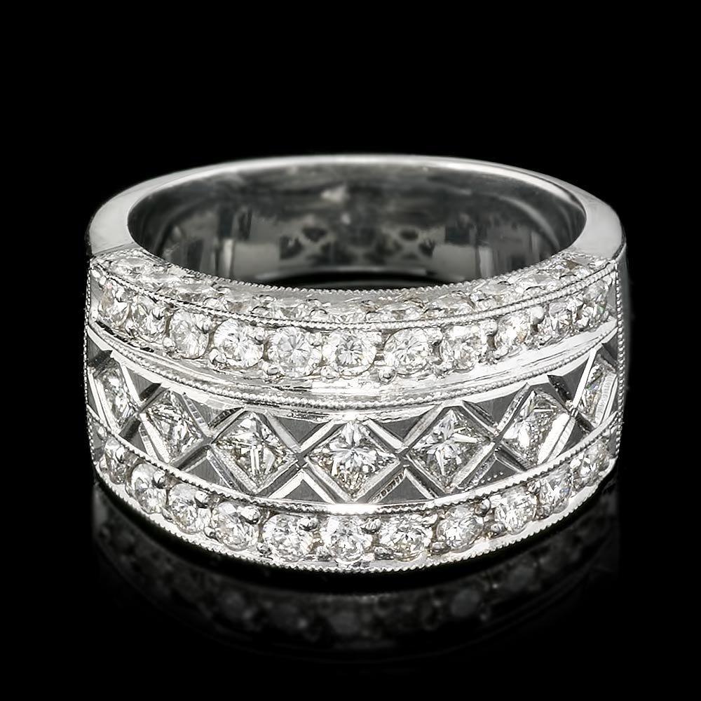 14k White Gold 1.91ct Diamond Ring