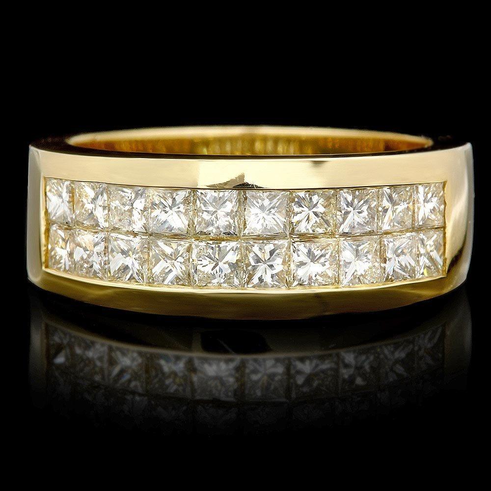 14k Yellow Gold 1.60ct Diamond Ring