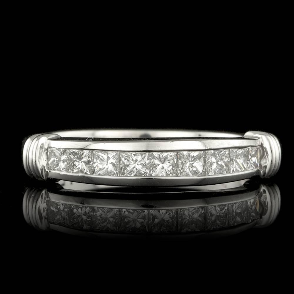 Platinum 0.55ct Diamond Ring