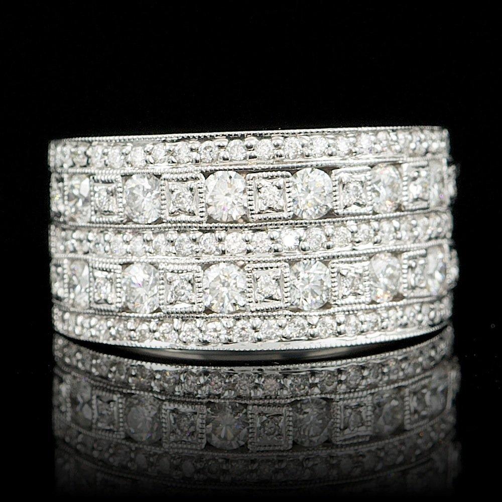 18k White Gold 1.46ct Diamond Ring