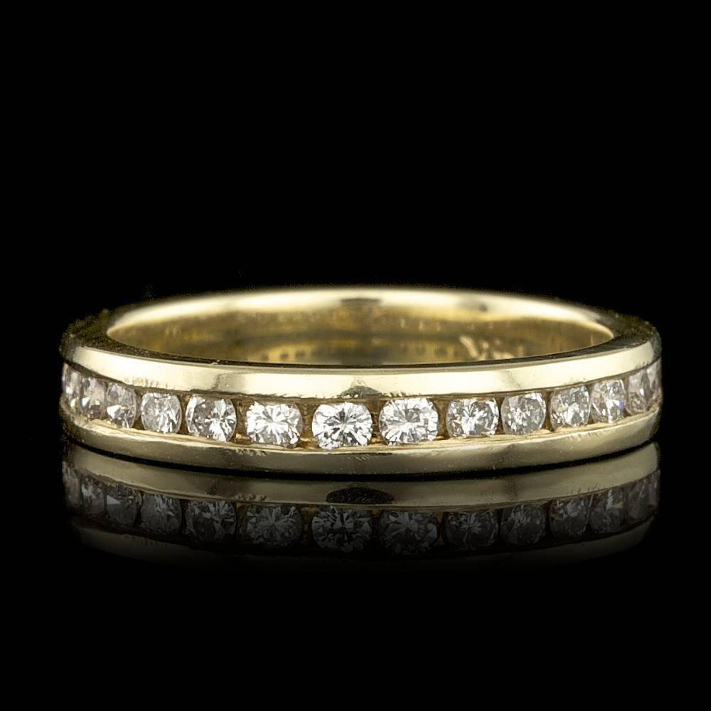 14k Yellow Gold 0.30ct Diamond Ring