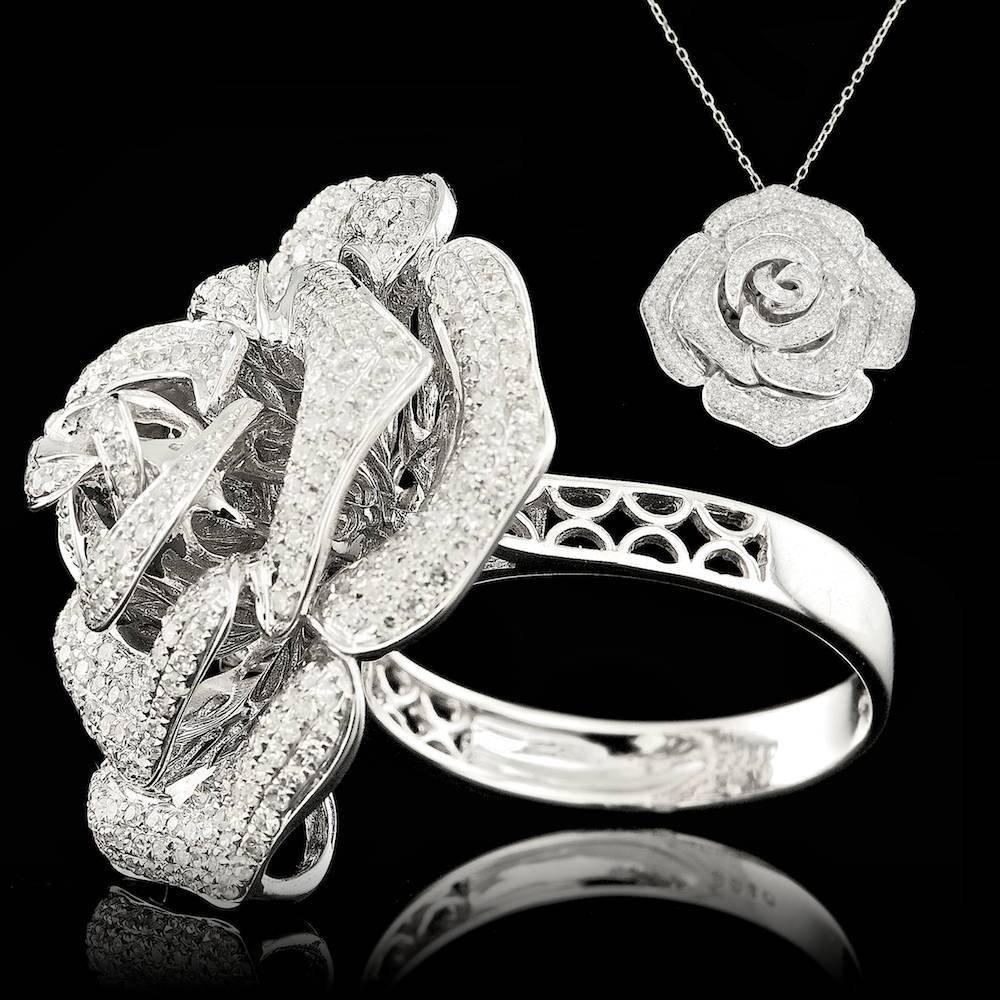 18k White Gold 1.65ct Diamond Ring