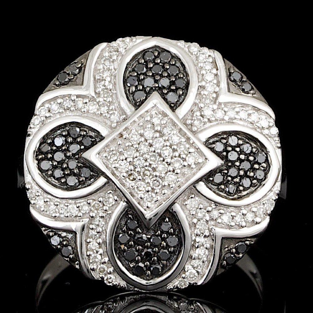 14k White Gold .6ct Diamond Ring