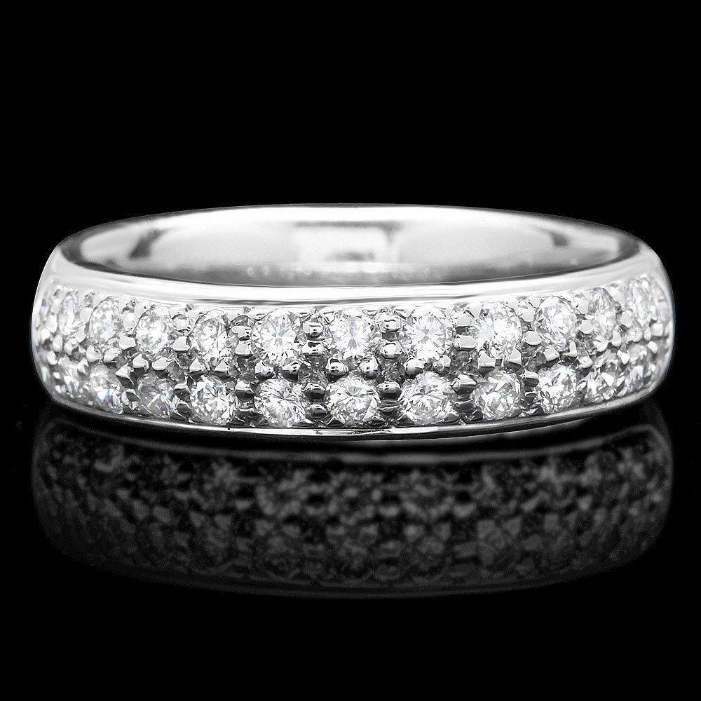 18k White Gold 0.75ct Diamond Ring