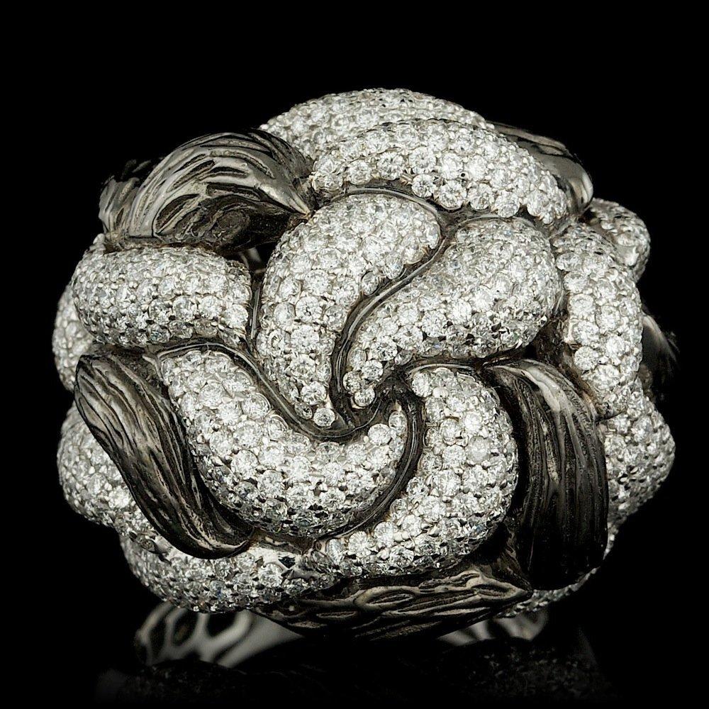 18k White Gold 4.50ct Diamond Ring