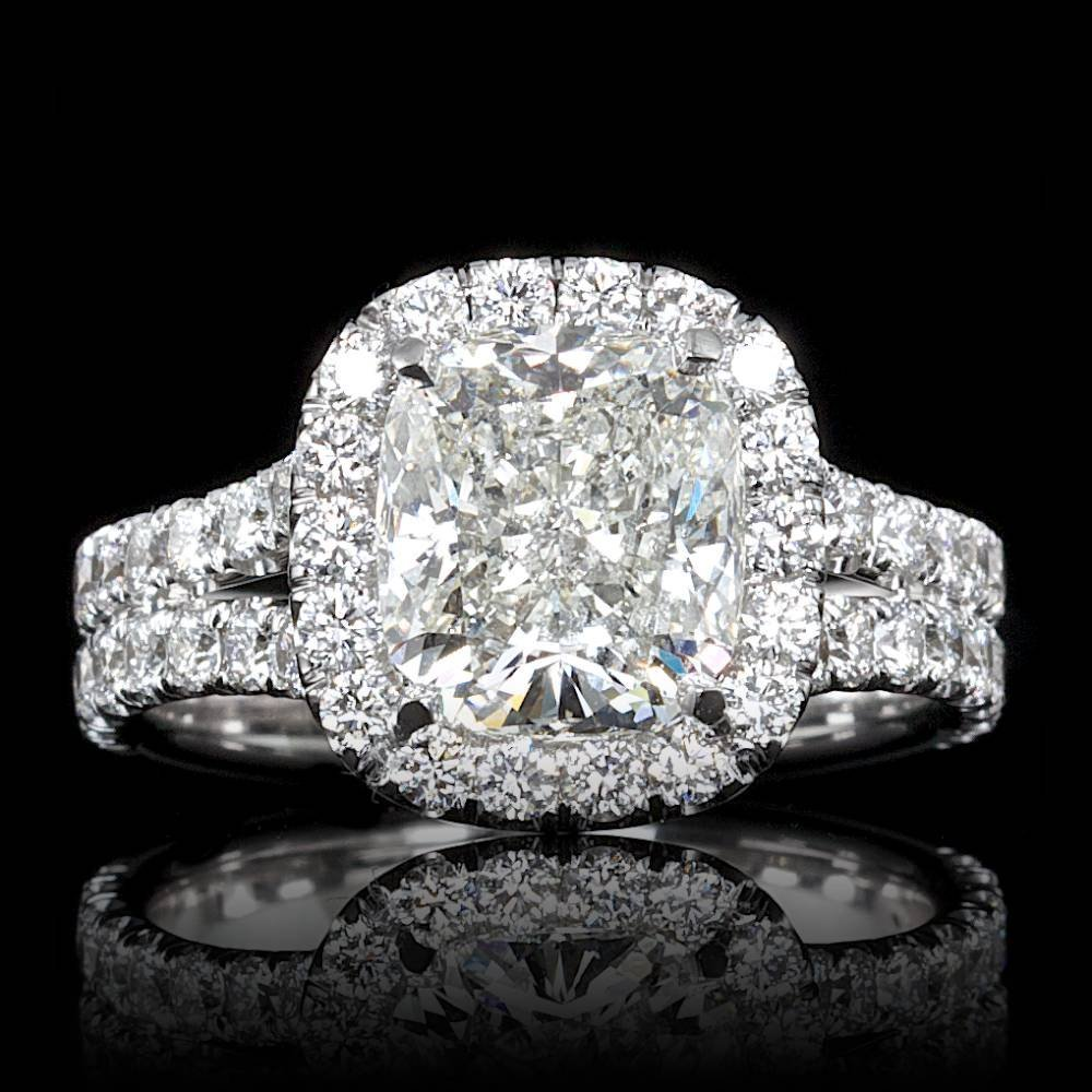 18k White Gold 3.30ct Diamond Ring
