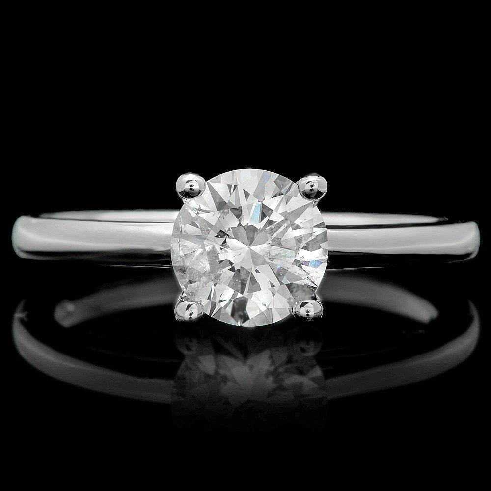14k White Gold 1.10ct Diamond Ring