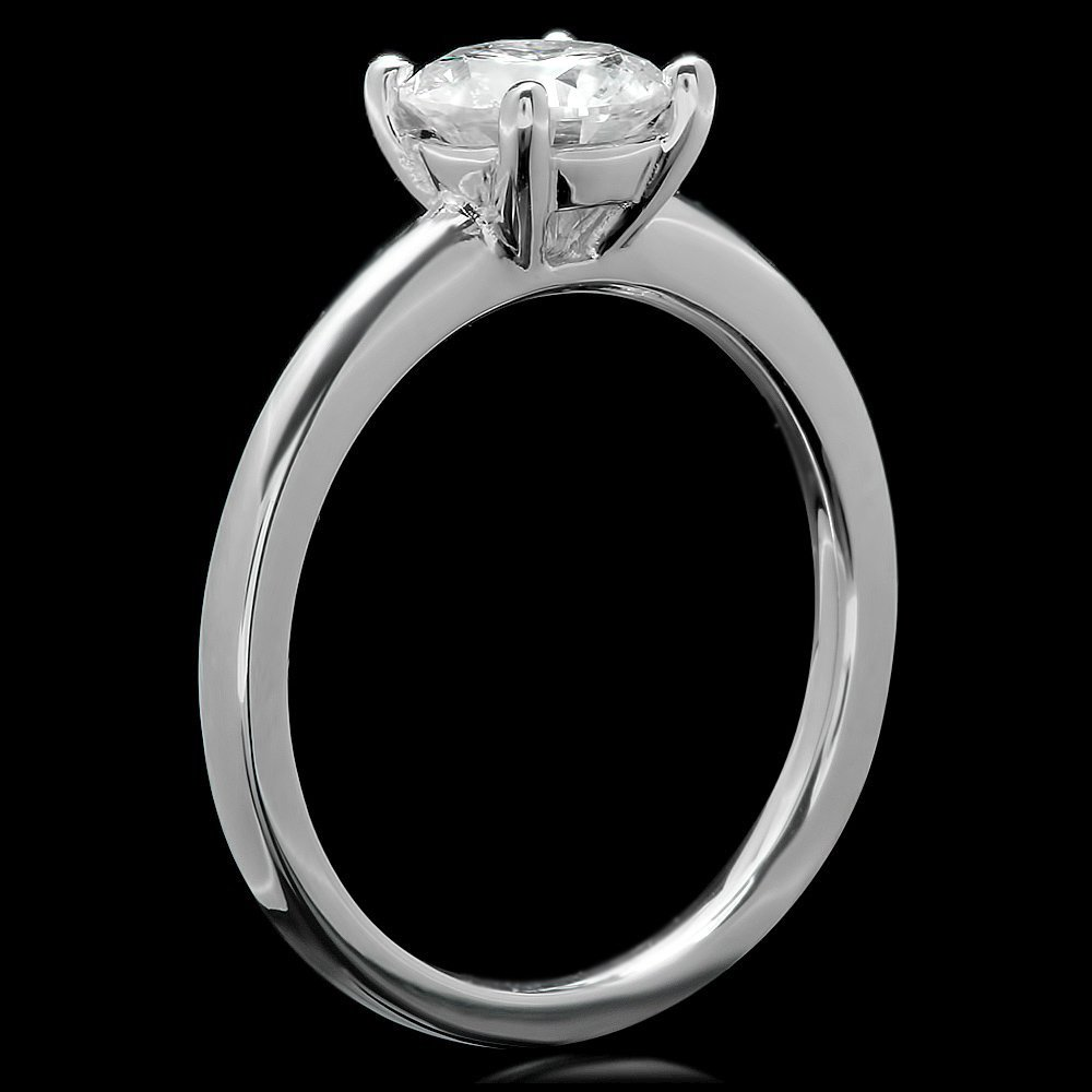 14k White Gold 1.10ct Diamond Ring - 2