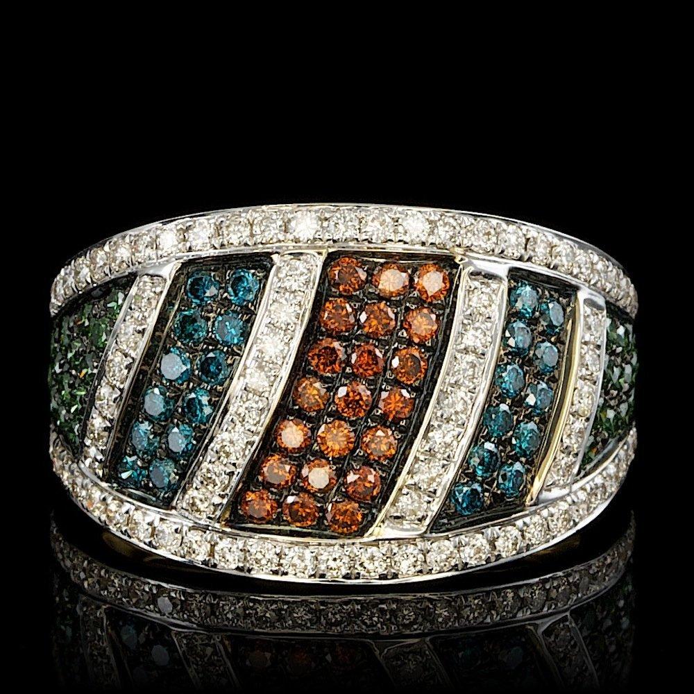 14k Yellow Gold 1.15ct Diamond Ring