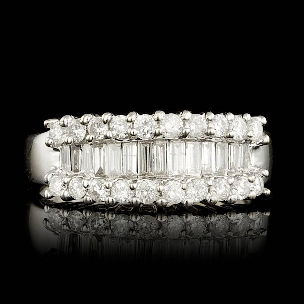 18k White Gold 1.25ct Diamond Ring